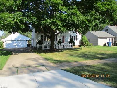 Avon Lake Single Family Home For Sale: 221 Berkshire Rd
