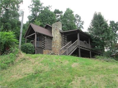 Guernsey County Single Family Home For Sale: 75975 Johnson Run Rd