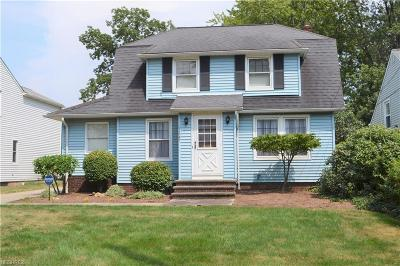 Lyndhurst Single Family Home For Sale: 1247 Roland Rd