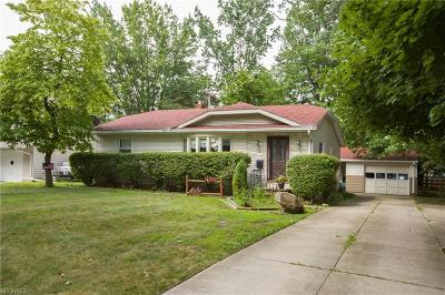 Single Family Home For Sale: 140 Moorewood Ave
