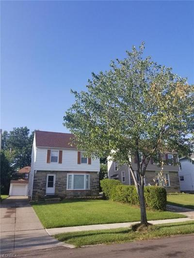 Cleveland Single Family Home For Sale: 17015 Glendale Ave