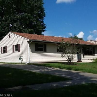 Elyria Single Family Home For Sale: 846 Purdue Ave