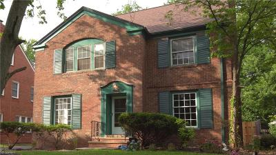 Shaker Heights Single Family Home For Sale: 3531 Norwood Rd