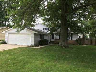 North Olmsted Single Family Home For Sale: 24837 Antler Dr