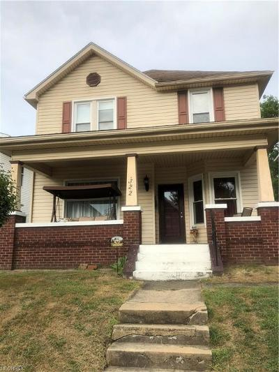 Guernsey County Single Family Home For Sale: 322 North 8th St