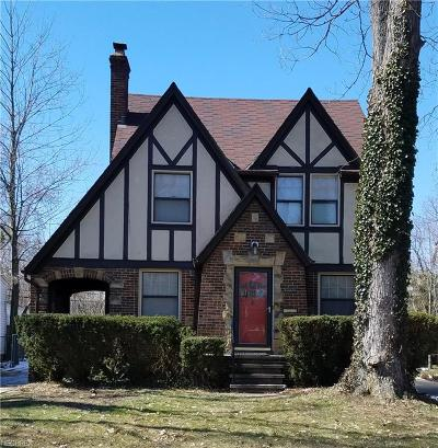 South Euclid Single Family Home For Sale: 1318 Winston Rd