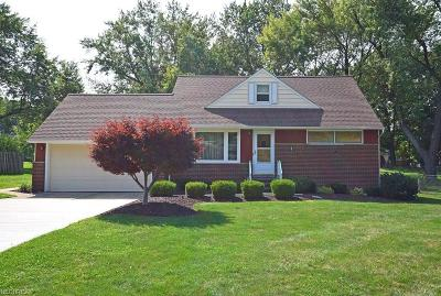 Richmond Heights Single Family Home For Sale: 1806 Skyline Dr