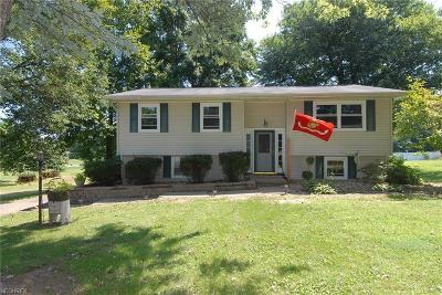 Zanesville OH Single Family Home For Sale: $129,900