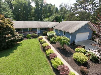 Madison Single Family Home For Sale: 7936 Middle Ridge Rd