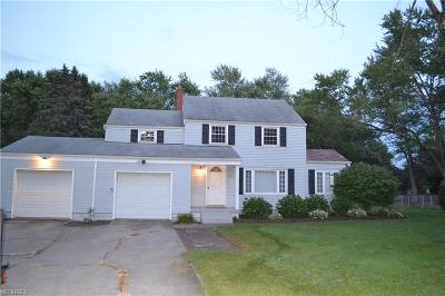 Warren Single Family Home For Sale: 2652 North Rd