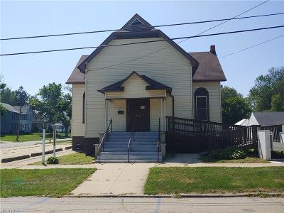 Ashtabula County Commercial For Sale: 837 W 9th Street