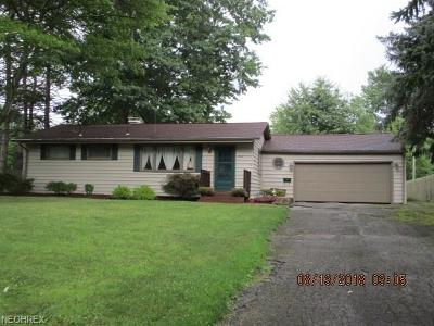 Austintown Single Family Home For Sale: 1481 Yolanda Dr