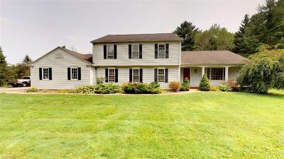 Geauga County Single Family Home For Sale: 13585 Fox Den East