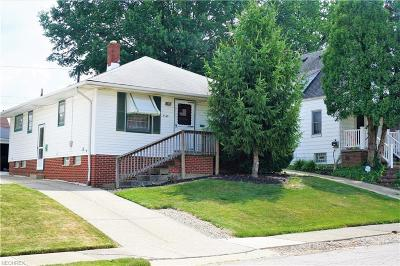 Garfield Heights Single Family Home For Sale: 5145 112th St