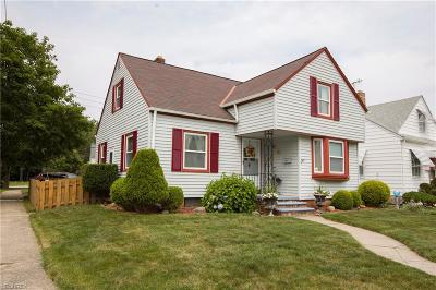 Cleveland Single Family Home For Sale: 1512 Plymouth Rd