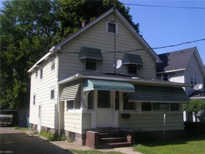 Painesville Single Family Home For Sale: 130 West Jackson St