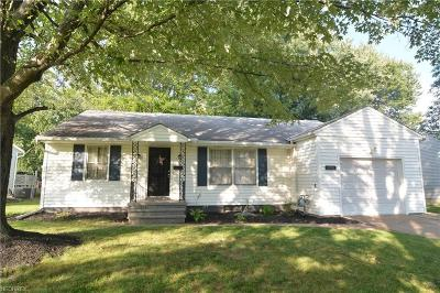 Elyria Single Family Home For Sale: 456 Stafford Dr