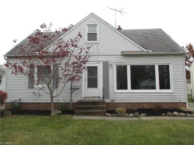 Wickliffe Single Family Home For Sale: 30224 Truman Ave