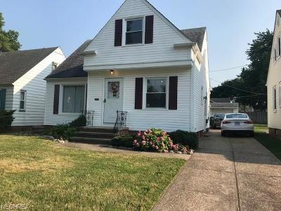 Cleveland Single Family Home For Sale: 4907 Park Dr