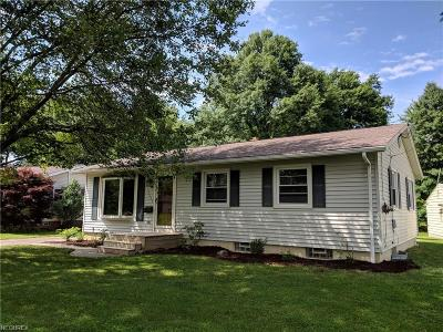 Youngstown Single Family Home For Sale: 5425 Argonne Dr