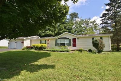 Zanesville Single Family Home For Sale: 2216 Adams Ln