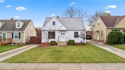 Parma Single Family Home For Sale: 2411 Russell
