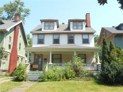 Cleveland Heights Single Family Home For Sale: 1787 Cadwell Ave