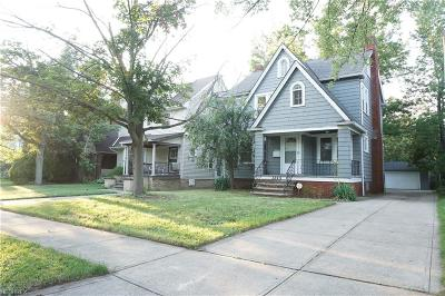 Cleveland Heights Single Family Home For Sale: 3849 Montevista Rd