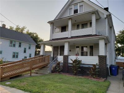 Cleveland Multi Family Home For Sale: 13413 Woodworth Rd