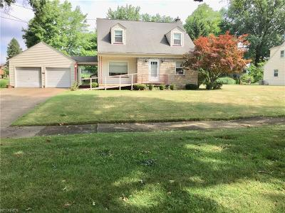 Girard Single Family Home For Sale: 650 East Broadway Ave East