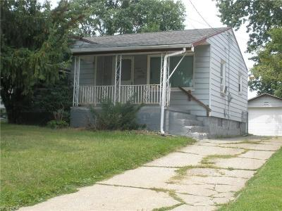 Youngstown Single Family Home For Sale: 746 Roxbury Ave