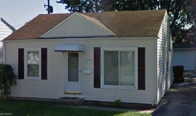 Cleveland Single Family Home For Sale: 4477 West 134th St