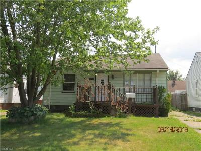 Cleveland Single Family Home For Sale: 1521 Tarlton Ave