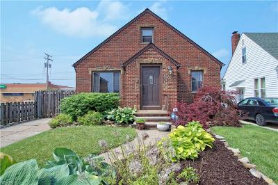 Parma Single Family Home For Sale: 7202 Hampstead Ave
