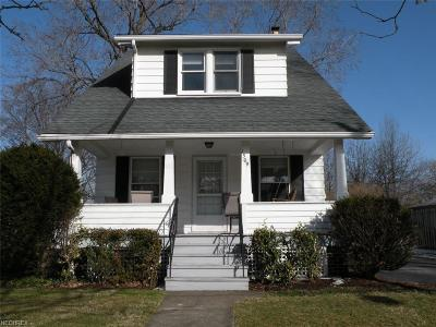 South Euclid Single Family Home For Sale: 1509 Holmden