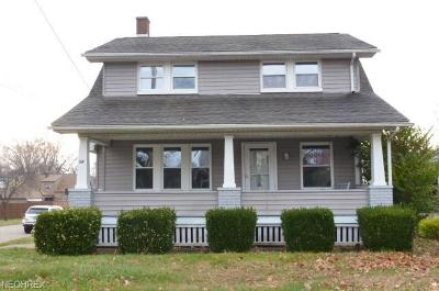 Struthers Single Family Home For Sale: 58 East Wilson St