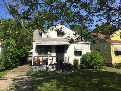 Cleveland Single Family Home For Sale: 4279 East 163rd St