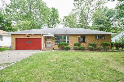 Fairview Park Single Family Home For Sale: 22885 Sycamore Dr