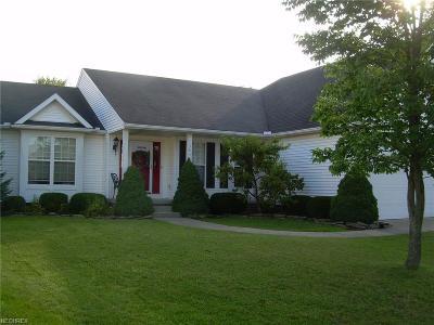 North Ridgeville Single Family Home For Sale: 38334 Humphrey Cir