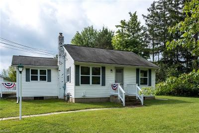 Chardon Single Family Home For Sale: 13677 Woodin Rd
