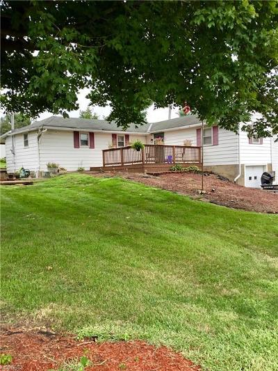 Guernsey County Single Family Home For Sale: 119 Old National Rd