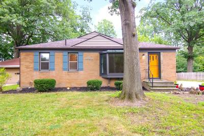 Single Family Home For Sale: 1901 Miriam Ave