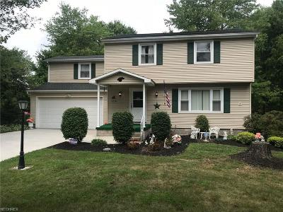Canfield Single Family Home For Sale: 4354 Timberbrook Dr