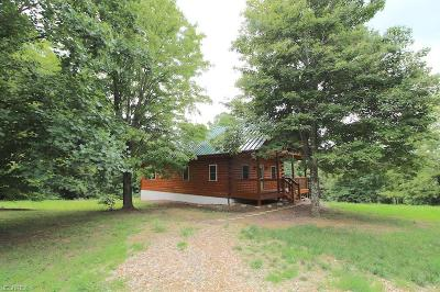 Guernsey County Single Family Home For Sale: 12945 Cadiz Rd