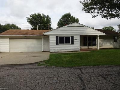 North Ridgeville Single Family Home For Sale: 6465 Madison Ave