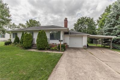Medina Single Family Home For Sale: 4680 Foote Rd