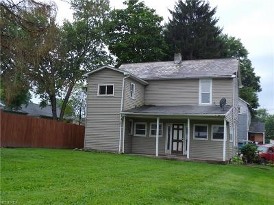 Zanesville Single Family Home For Sale: 830 Nancy Ave