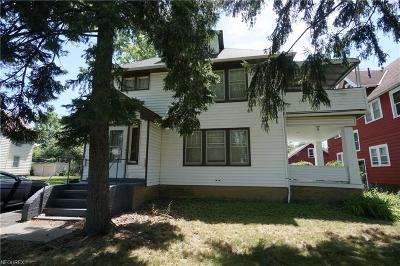 Cuyahoga County Multi Family Home For Sale: 3392 Desota Ave