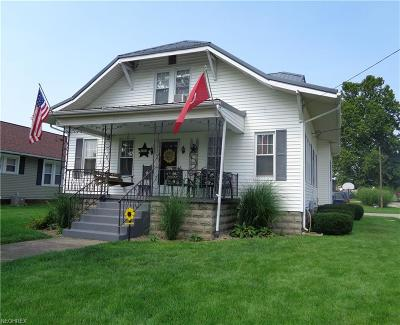 Muskingum County Single Family Home For Sale: 293 Elm St