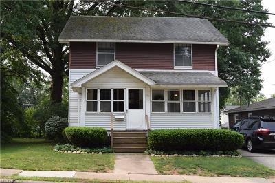 Wadsworth Single Family Home For Sale: 125 Baldwin St